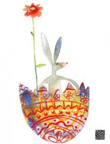 eggshell bunny