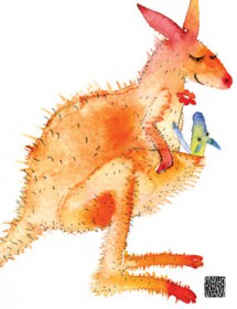 kangaroo mom