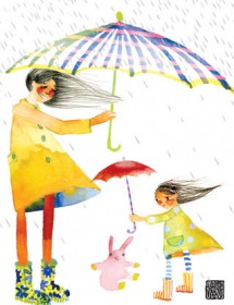 mom umbrella