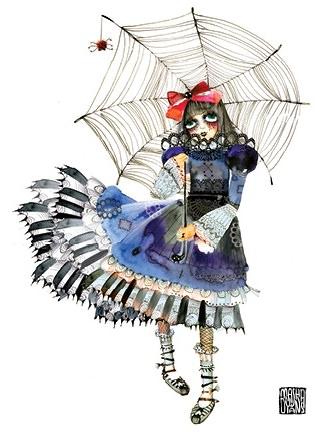 webumbrella girl