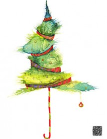 tied xmstree