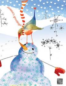 snowmanbird kiss