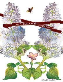 botanicus lilac spring nature plant watercolor Masha D'yans