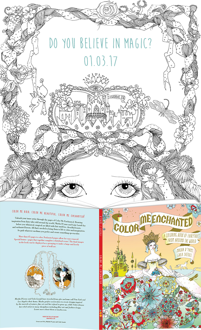 Color Me Enchanted teaser
