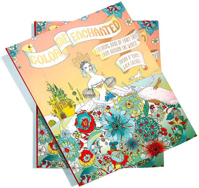 Color Me Enchanted - new book by Masha D'yans + Gala Lazuli