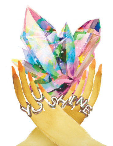 crystal shine hands watercolor masha dyans