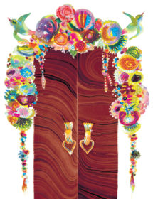 decorated lovedoors watercolor masha dyans