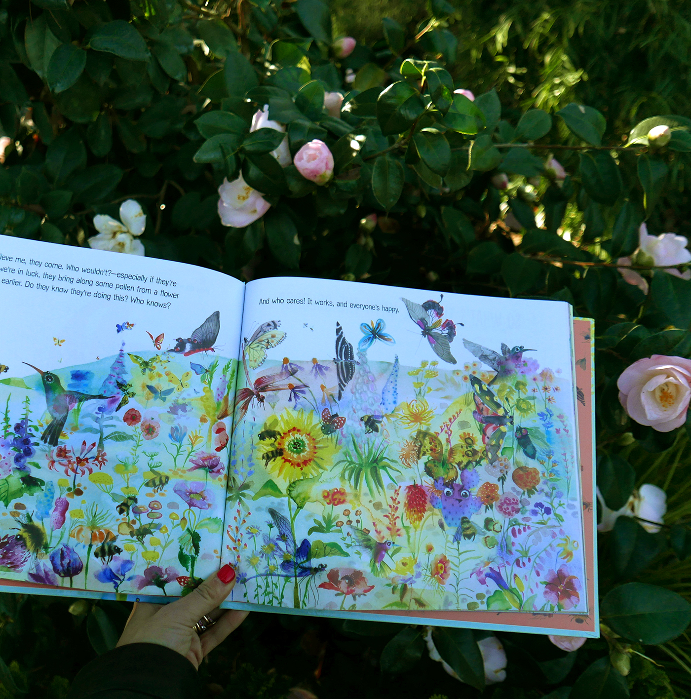 Flower Talk book by Masha D'yans flower field