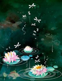 G104-night-pond-watercolor-masha-dyans