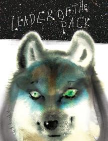 G66 wash wolf masha dyans watercolor greeting card