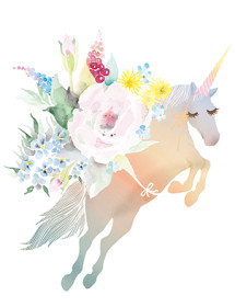 G74 bouquet unicorn masha dyans
