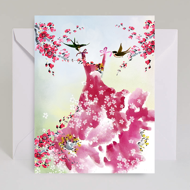 G80-sakura-pink-dress-dress-swallows-watercolor-masha-dyans