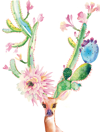 G92-cactus-horns-rack-deer-masha-dyans