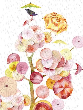 Umbrella Tree March Bird