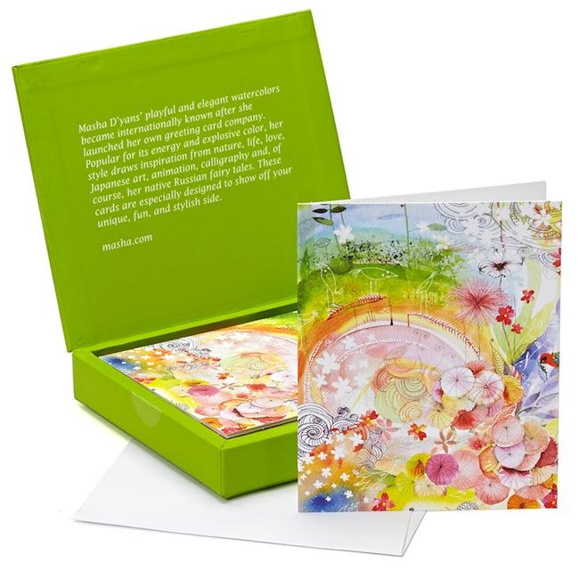 Masha card sets at Barnes and Noble Rainbow Field