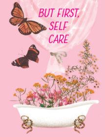 SLF1-Floral-Bath-masha-dyans-watercolor-greeting-card