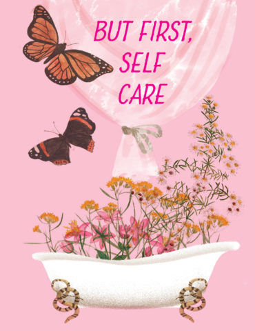 SLF1-Floral-Bath-masha-dyans-watercolor-greeting-card
