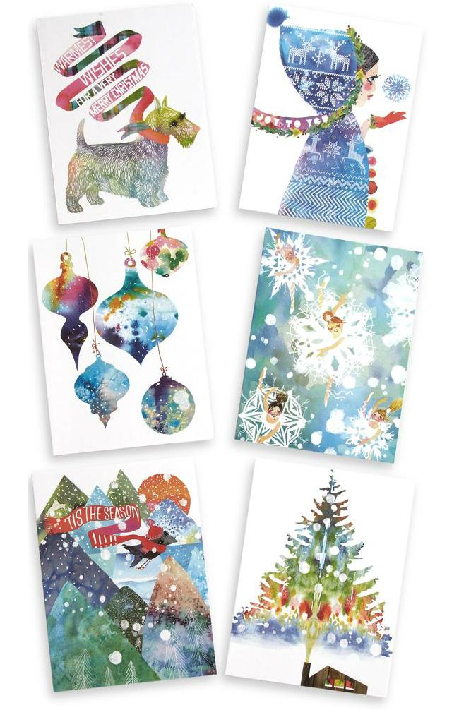 New Masha holiday cards. IN MASHA NEWS: SAKS + MOMA