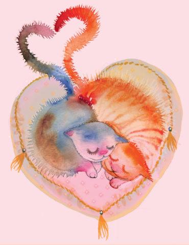 V14-cats-tails-heart-masha-dyans-watercolor-greeting-card