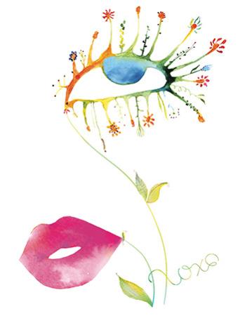 V29 eye lips plant masha dyans
