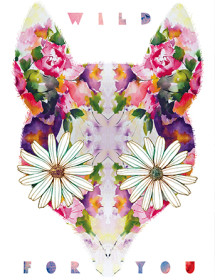 V30 flower animal face masha dyans