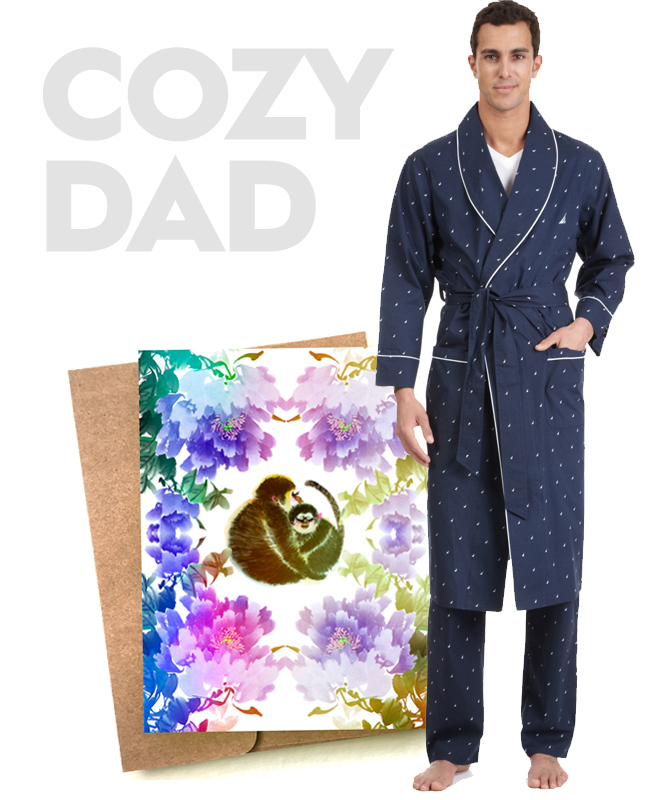 father's day cozy dad