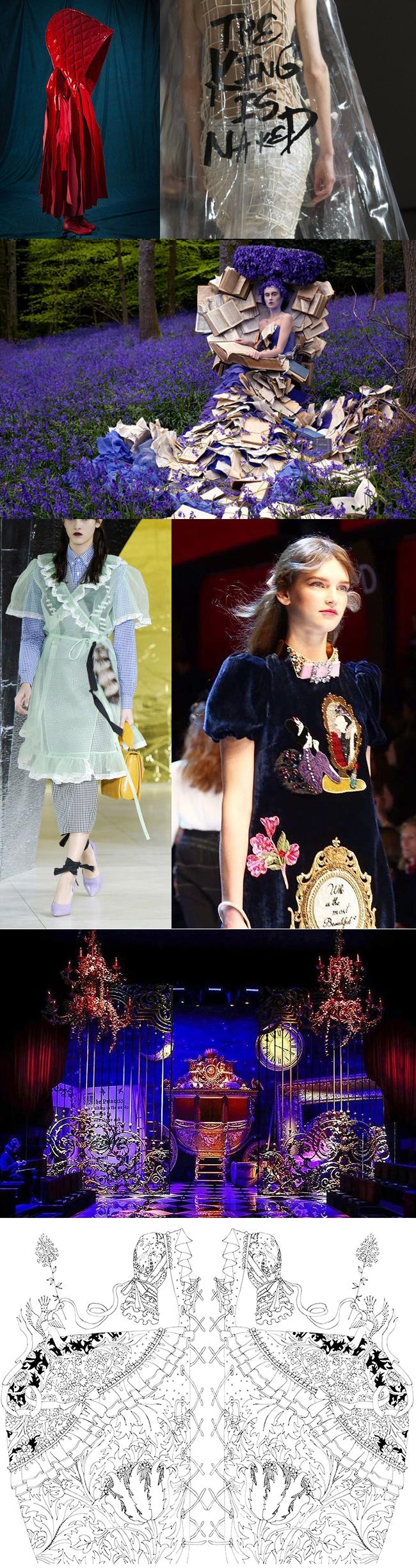 fairytales fashion color me enchanted by masha d'yans