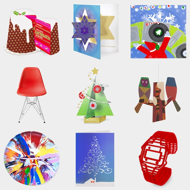 Bestselling Festive Tree Cards plus more from MOMA