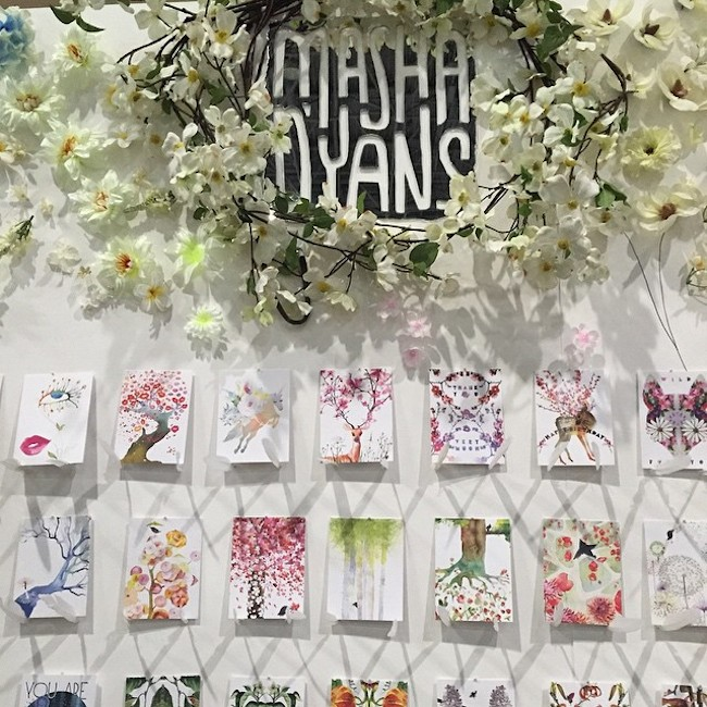 Masha D'yans Booth at the National Stationery Show 1