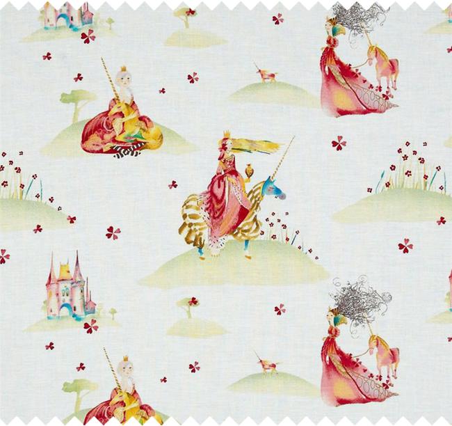 princess unicorn fabric swatch masha dyans