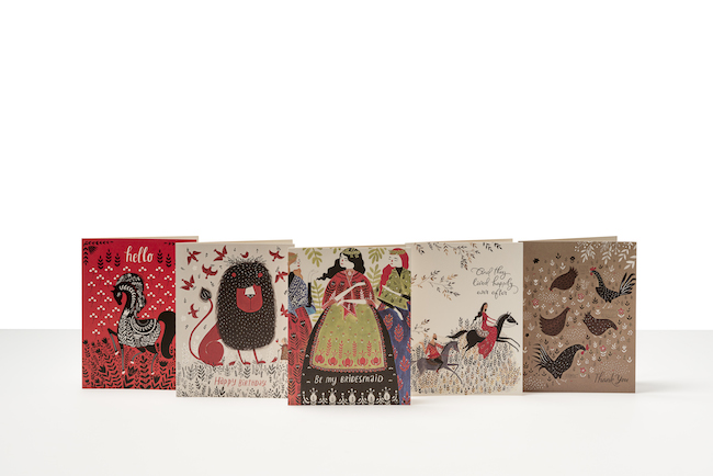 Paper Muse: Red Cap Cards