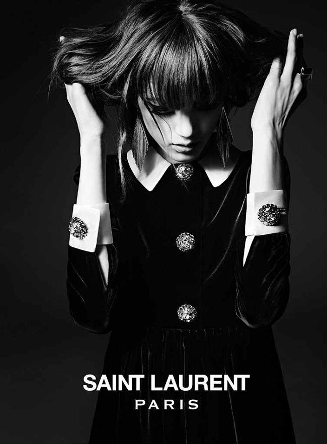 saint laurent 2014 fall winter campaign